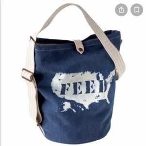 Feed & Gap denim bag